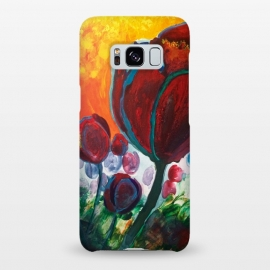 Galaxy S8+  Blue High Tulips on Fire by ANoelleJay ()