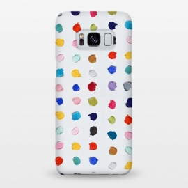 Galaxy S8+  Polka Daubs by Ann Marie Coolick (polkadots,polka dots,circles,colorful,pop art,multicolor,confetti)