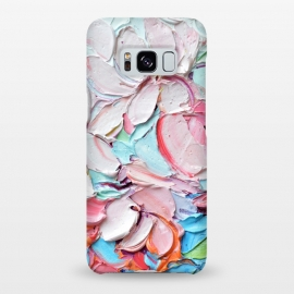 Galaxy S8+  Cherry Blossom Bouquet by Ann Marie Coolick (cherry blossoms,spring,flowers,pink,floral,texture,chic)