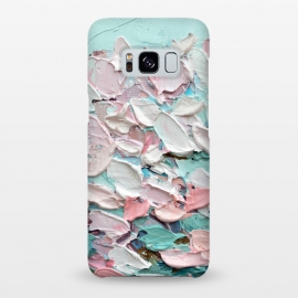 Galaxy S8+  Spring Blooming by Ann Marie Coolick (cherry blossoms,pink,spring,painting,flowers,floral,bouquet,sakura)
