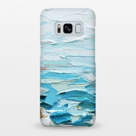 Galaxy S8+  Pacific Shore by Ann Marie Coolick (sea,beach,ocean,Pacific,waves,water,turquoise,blue,coastal)