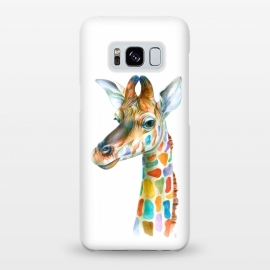 Galaxy S8+  Colorful Giraffe by Brandon Keehner