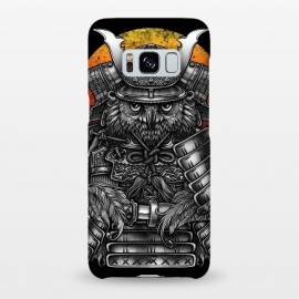 Galaxy S8+  Winya 63 by Winya (ronin,martial,katana,bushido,tattoo art,bird,owl,samurai,war,dark,art line,horror,animal,line work,spaulder,fighter,warrior,japan,suit of armor,hip ster,fantasy,monster,spirit,pop culture,surrealism,protective mask workwear,face guard sport,mask disguise,emperor,japanese culture,sword,ancient,cultur)