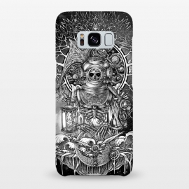 Galaxy S8+  Winya 73 by Winya (skull,vintage helmet,mandala,galaxy,cosmic,tattoo art,artsy,line work,line art,nice,fantastic,space,big bang,trek,geek,orbit,god,geometric,stars,reaperess,tree,tree of life,sacred,god of death,sick,winya,awsome,spirit,soul,reborn,skeleton,bone,cruel,scuba,sea,surreal,pop,hip,universe,evil,hell,ancho)