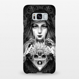 Galaxy S8+  Winya 76 by Winya (mandala,sacred geometry,pattern,triangle,poly,hipster,sacred,vintage,chicano,neo traditional,tattoo style,retro,abstract,skull,scarlet,women,lady,tear,cry,sad,geometry,tattoo,dark,fantasy,beautiful,punk,baroque,gothic,surreal,black and white,heart,hands,diamond,witch,sick,death,spirit,horror,culture)