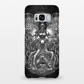 Galaxy S8+  Winya 85 by Winya (women,horror,bones,skull,black and white,spooky,tattoo,surreal,witch,halloween,magic,reaper,occult,skeleton,cruel,amazon,eyes,culture,girl,sexy,pinup,art line,line work,death metal,death,blind,baroque,victoria,streem punk,gothic,pop culture,triangle of light,triangle,third eyes,snake,cobra,owl,grave)