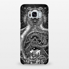 Galaxy S8+  Winya 89 by Winya (horror,bones,skull,black and white,spooky,tattoo,surreal,witch,halloween,magic,reaper,occult,skeleton,cruel,eyes,culture,art line,line work,death metal,death,blind,baroque,victoria,streem punk,gothic,pop culture,triangle of light,triangle,third eyes,dark,fantasy,mystical,sacred geometry,octopus,cree)