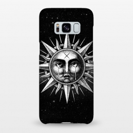 Galaxy S8+  Winya 101 by Winya (sun,sun vintage,sun drawing,sun old style,sun tattoo,cry,engraving,old school,death,baroque,victorian,streem punk,gothic,pop culture,dark,sacred geometry,fantasy,mystical,sacred,creepy,popsurrealism,post apocalyptic,tattoos)