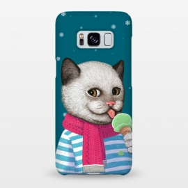 Galaxy S8+  Cat and Ice Cream by Tummeow ()