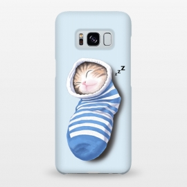 Galaxy S8+  Cat in The Sock by Tummeow ()