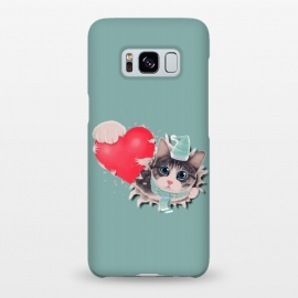 Galaxy S8+  Cat Steal your Heart by Tummeow ()