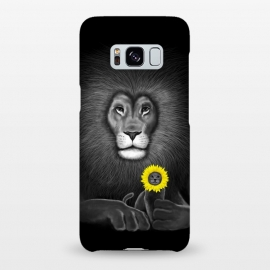 Galaxy S8+  Lion by Tummeow