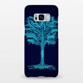 Galaxy S8+  Circuitree by Jay Maninang (tree,circuits,branches,nature)