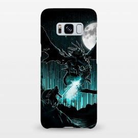 Galaxy S8+  Meet The Myth by Jay Maninang (dragon,myth,warrior,mythology,creature,got)