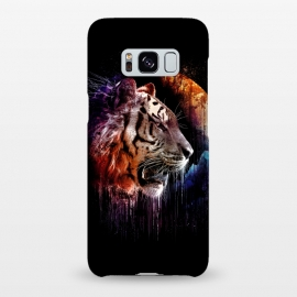 Galaxy S8+  Midnight Hunter by Jay Maninang (tiger,big cats,cats,wild life,wild,hunter,predator,midnight)