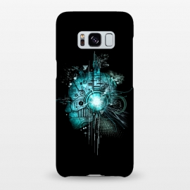 Galaxy S8+  Techno by Jay Maninang (robot,techno,music,headset,cool,mecha,electric,steampunk)