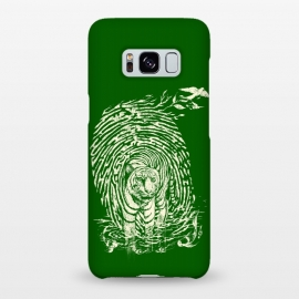 Galaxy S8+  WildPrint by Jay Maninang (tiger,thumbrpint,wildlife,wild,bigcats,cats,nature)