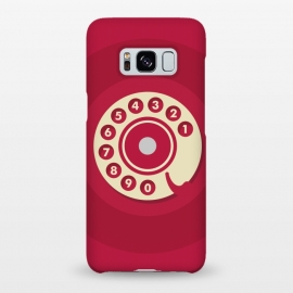 Galaxy S8+  Vintage Red Telephone by Dellán