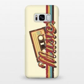 Galaxy S8+  Music! (Retro Style) by Dellán (music,retro,classic,70's,80's,rock and roll,pop music,hipster,rock star,jazz,spring,summer,fall,winter,old fashion,geek,vinyl,cassette,trendy,typographyc,text,quotes,good vibes)
