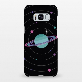 Galaxy S8+  Planet & Bright Star by Dellán (Galaxy,planets,astronomy,astrology,milky way,space,ufo,martians,trendy,geek,nerd,universe,newton,einstein,future,ovni,stars,alien,saturn,retro)
