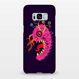 Galaxy S8+  Seveneye by Parag K (art,cartoon, eyes,pink,creative face,design,animal)