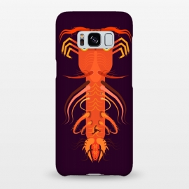 Galaxy S8+  Prawn by Parag K (art ,fish ,creative,illustration ,sea,character design,Beach ,Prawn)