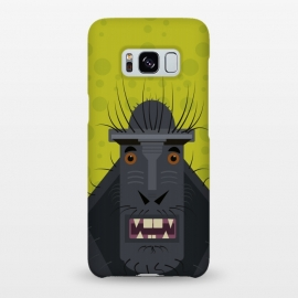 Galaxy S8+   Monkey by Parag K (monkey ,animal,design,character,art,creative art,illustration)
