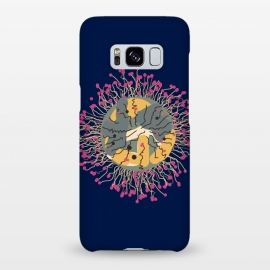Galaxy S8+  Meduse-fleur by Parag K (art,sea,fish,creative art,illustration,design,Meduse-fleur)