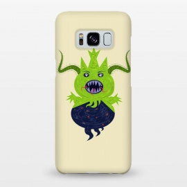 Galaxy S8+  Greendoll by Parag K (art ,character design,animal,sea,garden,flower,horror,green)