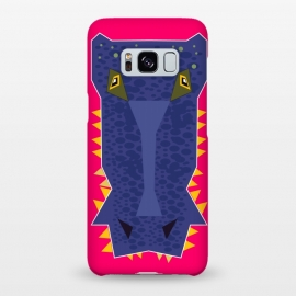 Galaxy S8+  Crocodile by Parag K (art ,illustration,animal,sea,beach,water,creative design)