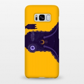 Galaxy S8+  Blueman by Parag K (art,character design,movies,creative art,sketch,blue,orange,face)