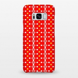 Galaxy S8+  Orange Pattern by Karim Luengo