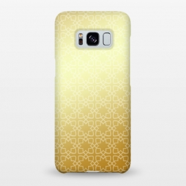 Galaxy S8+  Gold by Karim Luengo (gold,women,pattern,vector,geometric,fashion,abstract)
