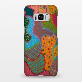 Galaxy S8+  Cheerful Pattern by Helen Joynson