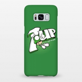 1UP Get a Life by Samiel Art (samiel,samielart,1up,mario bros,7up,retro,video games,gamer,nostalgia,80s,nintendo,funny,cute)