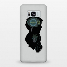 Galaxy S8+ SlimFit Mind and Heart by Samiel Art (samiel,samielart,sherlock,holmes,watson,silhouette,detective,movies,pop culture)