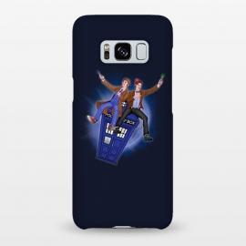 Galaxy S8+  THE DOCTOR'S TIMEY-WIMEY ADVENTURE by SKULLPY (DR WHO,BILL AND TED,MOVIES, TV SHOW,TARDIS,DOCTOR,NERD, NERDY,MASHUP,10TH DOCTOR, 11TH DOCTOR,POP)