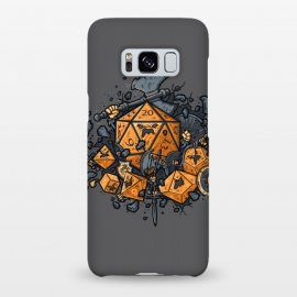 Galaxy S8+  RPG United by Q-Artwork (rpg,dnd,dungeons and dragons,dices,critical hit,adventure,role play,weapons,medieval,middle age,game,gamer,d20)