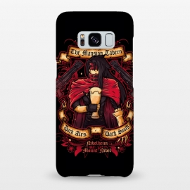 Galaxy S8+  The Mansion Tavern by Q-Artwork (final fantasy,gaming,gamer,videogame,pub,drink,flyer,vincent valentine,gun,beer,ff7)