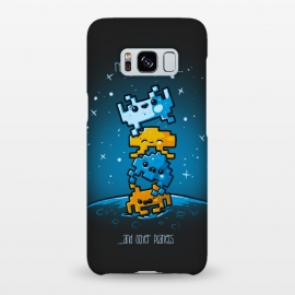 Galaxy S8+  Cute Invaders by Q-Artwork (cute,kawaii,space invaders,video game,space,gamer,alien,planets)