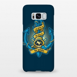 Galaxy S8+  King Of Pirates by Q-Artwork (pirate,anchor,sea,ocean,skull,anime,one piece,japan,king)
