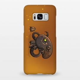 Galaxy S8+  Cute Alien by Q-Artwork (cute, monster,kawaii,alien,lifeform,character,character design)