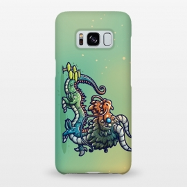 Galaxy S8+  Cute Chinese Dragon by Q-Artwork (dragon,chinese,kawaii,cute,character design,monster)