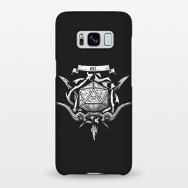 Galaxy S8+  Elf Crest by Q-Artwork (dnd,dungeons and dragons,adventure,rpg,role play,gaming,gamer,d20,critical hit,game)