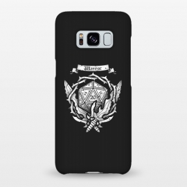 Galaxy S8+  Warrior Crest by Q-Artwork (dnd,dungeons and dragons,crest,warrior,weapons,sword,blade,rpg,role play,gamer,gaming,adventure)