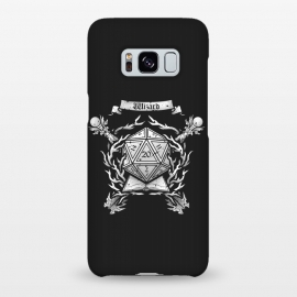 Galaxy S8+  Wizard Crest by Q-Artwork (dnd,dungeons and dragons,role play,rpg,adventure,critical hit,d20,magic,wizard,mage,spell)