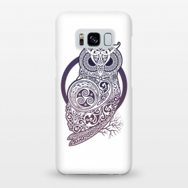Galaxy S8+  CELTIC OWL by RAIDHO (owl,celtic,celtic-knotwork,knotwork,celtic-spirals)