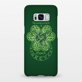 Galaxy S8+  MARCH 17th by RAIDHO (st.patrick's day,irish,celtic,clover,irish dance,love,celtic knots,knotwork)