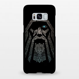 Galaxy S8+  ODIN by RAIDHO (ODIN,vikings,knotwork,nordic mythology,ravens,wolves,norse god)