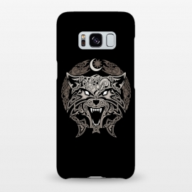Galaxy S8+  RAGNAROK WOLVES by RAIDHO (wolf,ragnarok,fenrir,sun and moon,nordic mythology,vikings,knotwork)